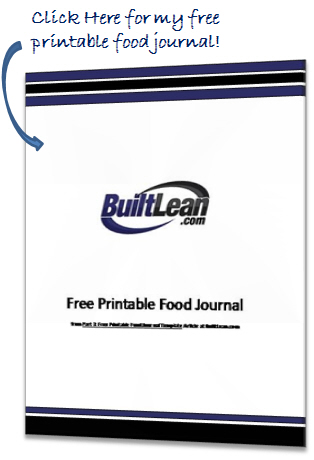 Best Free Printable Food Journal Template & Log