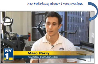 lose fat build muscle 2 Exercise Progression: The Best Way to Get In Shape
