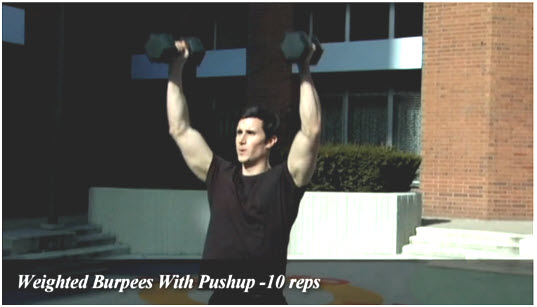 metabolic conditioning exercise 1 Metabolic Conditioning Circuit For Burning Fat