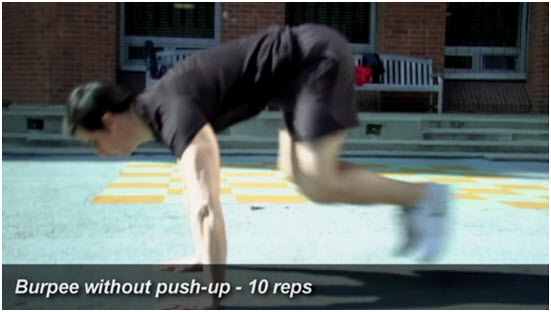 Metabolic Conditioning Exercise 4