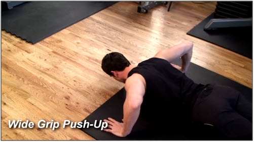 Push Up Workout Routine #1