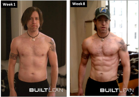 builtlean before after neil Neils Transformation: From Average to Ripped
