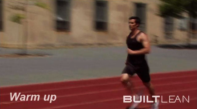 Interval Training Sprint Workout for Fat Loss - Warmup
