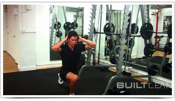 Variation #2: Body Weight Jump Lunge