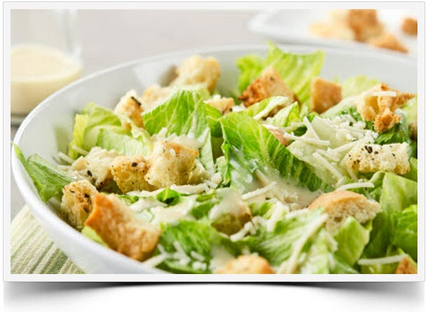 best caesar salad intro Best Healthy Caesar Salad Recipe