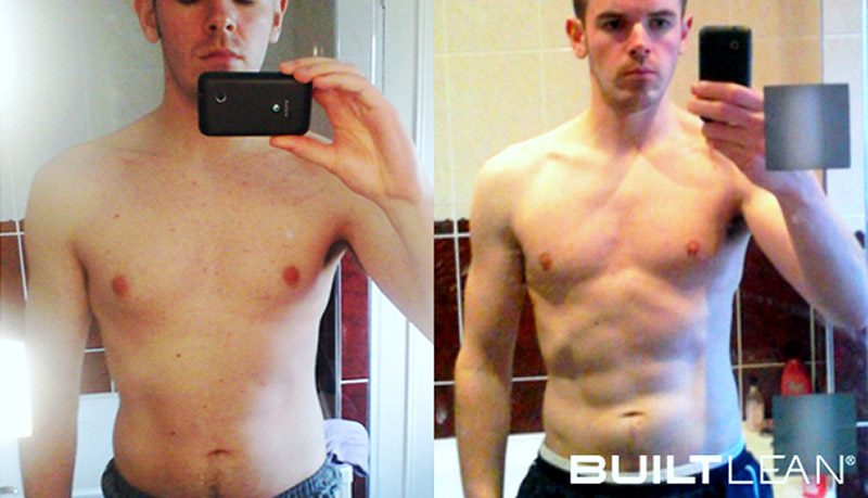 Lean Muscle Body Before And After BuiltLean Review: Dan ...