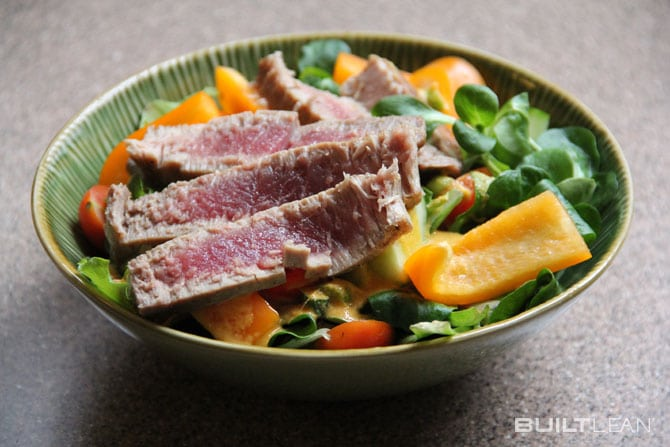 Ahi-Tuna-Carrot-Ginger-Salad