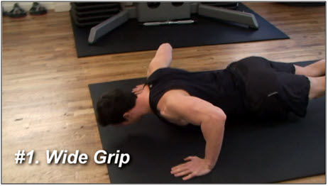 Push Up Variations & Exercises 1