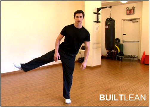 Dynamic Balance Fitness Test #3
