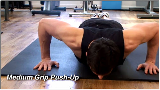 Push Up Workout Routine #3