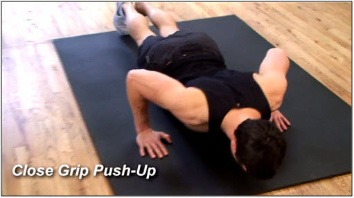 Push Up Workout Routine #5
