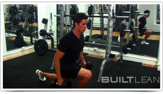 Variation #3: Weighted Jump Lunge