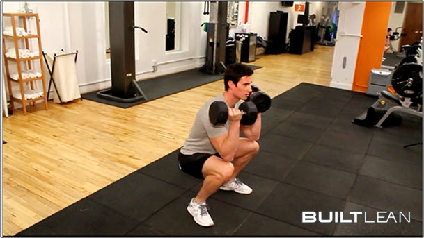 An Imaginary Triangle to Correctly Do The Exercises with Dumbbells