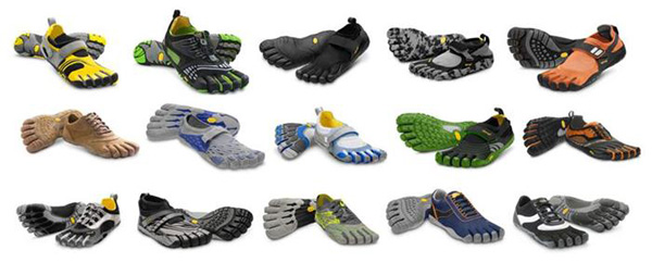 five finger running shoes