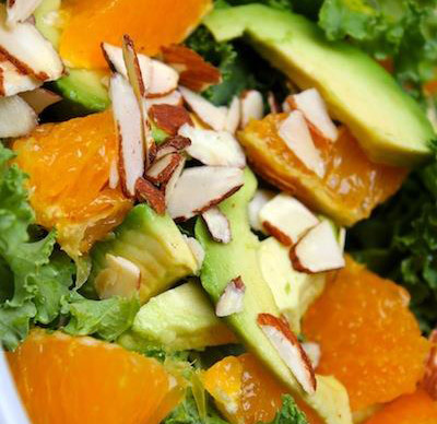 Raw kale salad recipe