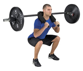4 Safety Squat Yoke Bars