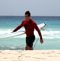 Marc Perry Surfing Photo