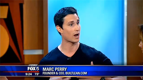 marc pery at fox tv