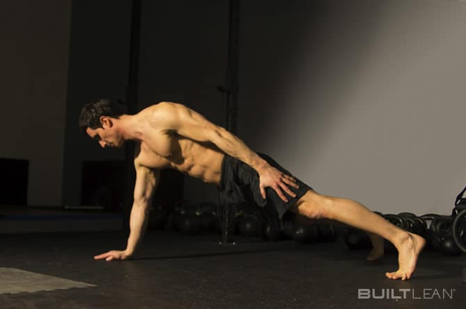 one-arm-plank