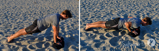 sandbag-push-up