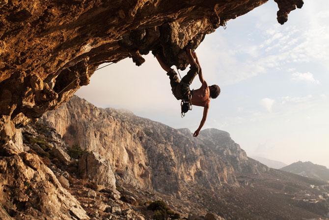Flow-State-Rock-Climber