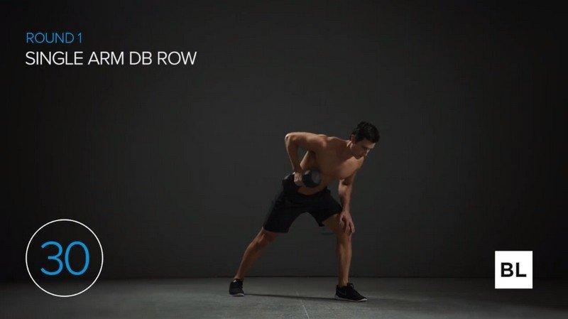 Single Arm DB Row