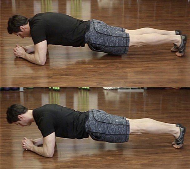 Forward Plank Shoulder Position