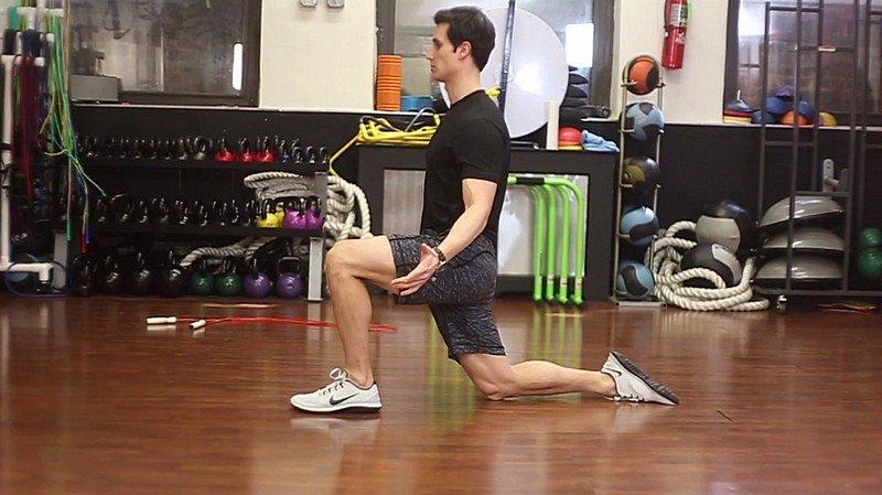 Half-Kneeling Stretch
