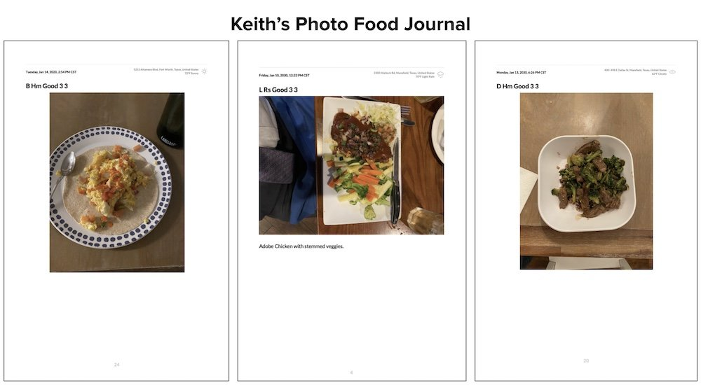 Keith's Photo Food Journal #1