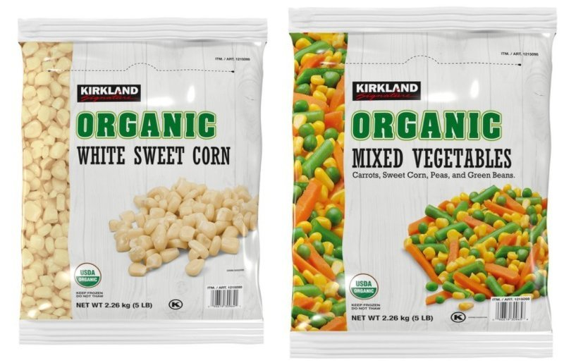 Kirland Corn Mixed Vegetables