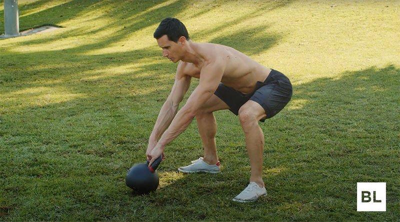 Hip Hinge Kettlebell Swing Form Correction