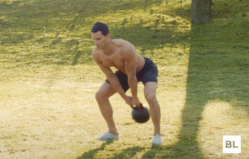 Kettlebell Swing Form Hip Thrust